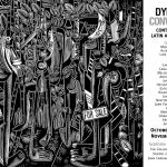 Third Bronx Latin American Art Biennial, woodcut by Carlos Barberena.