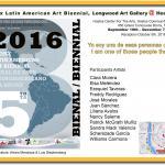 5th BxLatino Art Biennial at Longwood Gallery @ Hostos