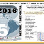 Fifth Bronx Latin American Art Biennial, Bronx Art Space
